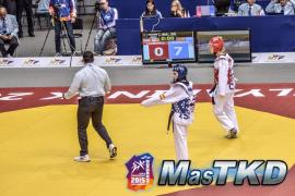 Brigitte Yagüe se despide antes de hora del Mundial de taekwondo