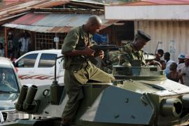El ejército de Burundi da un golpe de estado y cierra las fronteras del país