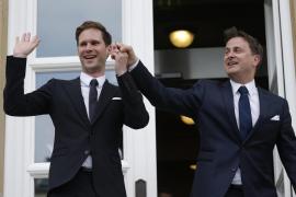 El primer ministro de Luxemburgo  se casa con un arquitecto belga