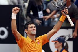 Djokovic aparta a Ferrer de la final de Roma