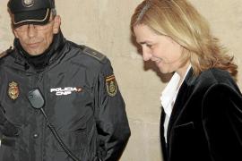 Anticorrupción pide rebajar la fianza a la Infanta de 2,7 millones a 449.525 euros