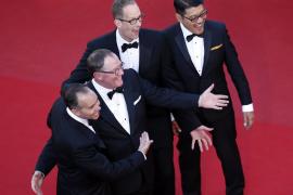 Una alfombra roja multitudinaria celebra el éxito de la nueva obra de Pixar en Cannes