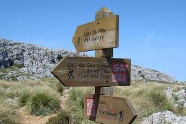 Plan de la ruta de pedra en sec