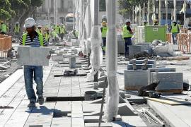 Virginia Marí: «Teníamos el compromiso de la APB de no hacer obras por la noche»