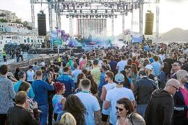 La música electrónica se divierte en Dalt Vila