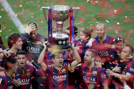 El Depor obra el milagro en el día que Xavi se despidió del Camp Nou