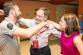 'Agustinet' gana las elecciones en Sant Josep y no descarta un pacto con Guanyem