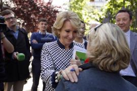 Aguirre se ofrece al PSOE y Ciudadanos para evitar el gobierno de Ahora Madrid
