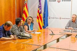 El primer encuentro entre Vicent Serra y Viviana fue grabado y abierto a los medios