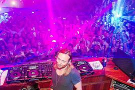 La noche ibicenca se vuelca con David Guetta