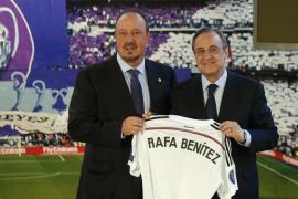 Rafa Benítez: «Es un día emocionante, volver a mi casa»