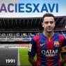 El barcelonismo rinde tributo a su gran capitán, Xavi Hernández
