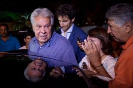 Felipe González llega a Venezuela