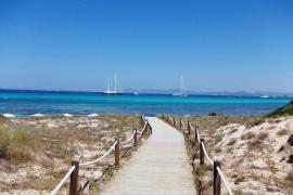 Un turista polaco muere ahogado en Formentera