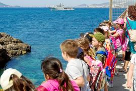 Una misión urgente del patrullero deja sin visita a los alumnos del CEIP Sa Joveria