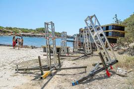 El Consell d'Eivissa no ha cobrado por autorizar la fiesta privada en s'Estanyol
