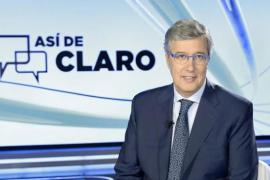 TVE suspende la emisión del programa 'Así de claro' de Sáenz  de Buruaga