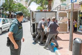 Encuentran el cuerpo sin vida de dos hombres en un piso en Santa Eulària
