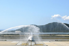 Volotea se marca el objetivo de volar más meses a Eivissa