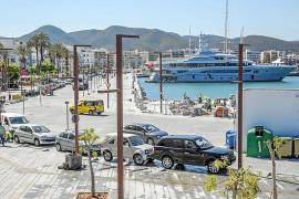 Autoritat Portuària instala de nuevo el parking de pago en la fachada marítima