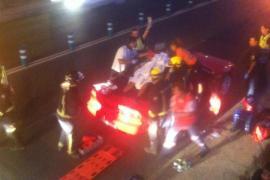 Atropellado en la avenida Sant Josep un peatón de unos 30 años de edad