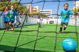 Fútbol en las calles