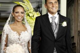 Multitudinaria boda de Keylor Navas y Andrea Salas en Costa Rica