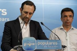 Los críticos fuerzan la dimisión de Bauzá y un presidente interino se hará cargo del PP