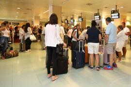 El aeropuerto de Eivissa es el único de Balears que gana pasajeros durante la crisis