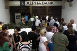 Los bancos y la Bolsa de Grecia, cerrados este lunes