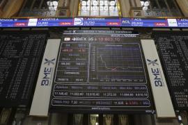 El Ibex se deja un 4,56 % por el miedo a la crisis griega