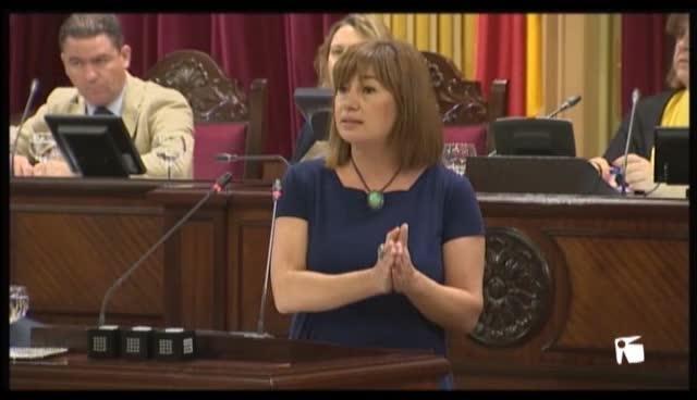 VÍDEO: Francina Armengol, investida presidenta del Govern Balear