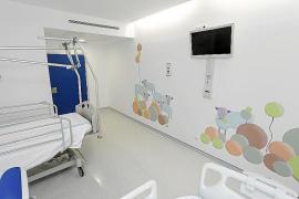 Caracoles de colores en el hospital