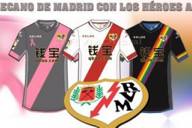 El Rayo Vallecano pone sus colores al servicio de los «héroes anónimos»