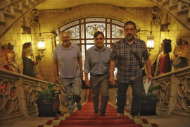 Miquel Ensenyat, Francesc Miralles y Jesús Jurado