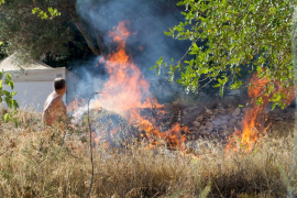 Las llamas vuelven a Sant Joan