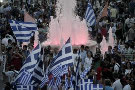 Grecia celebra los resultados