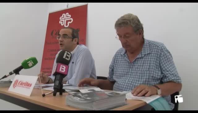 VÍDEO: Cáritas atendió a 1.570 personas en las Pitiüses el año pasado, un 9 % más que en 2013