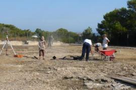 Las excavaciones de Can Blai en Formentera entran en su última fase