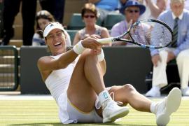 Muguruza supera a Bacsinszky y se mete en las semifinales de Wimbledon