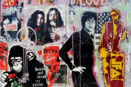 Collage y color para la galería Marta Torres