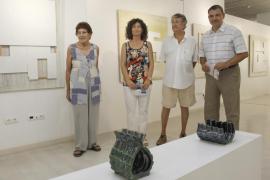 La pintura de Tur i Costa y la cerámica de Witt unidas en Garden Art Gallery
