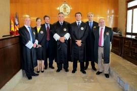 Tres nuevos fiscales con destino en Balears juran el cargo