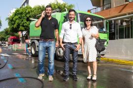 Vila comienza el plan de choque de limpieza de los barrios del municipio