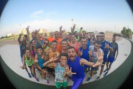 Impulsando con zancadas la Ibiza Media Maratón de 2016