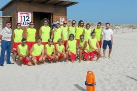 Formentera contará con 18 socorristas en sus playas hasta finales de octubre