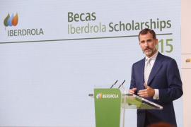 El Rey dice a los jóvenes que son «la mejor energía para impulsar España»