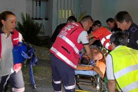 En estado grave un joven alemán que cayó al vacío en un hotel de platja d'en Bossa