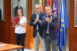 David Ribas toma posesión como conseller de Cultura y Deportes de Eivissa