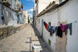 La Policía Nacional de Eivissa detiene a 2 personas por traficar en el barrio de Sa Penya
